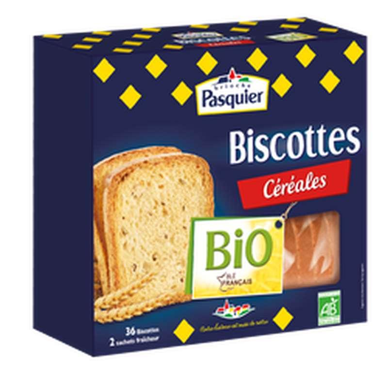 Biscotte aux céréales BIO, Pasquier (300 g)