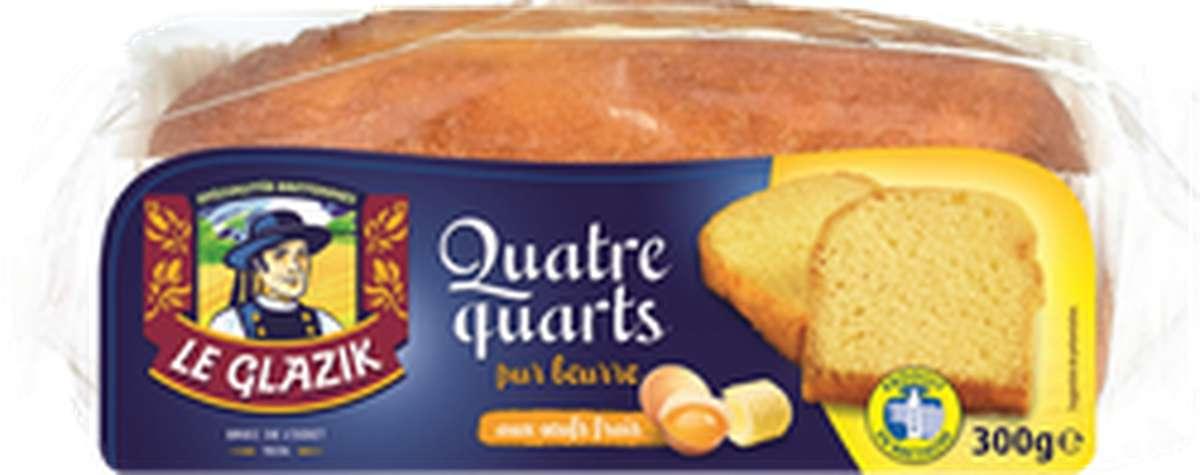 Quatre-quart, Le Glazik (300 g)