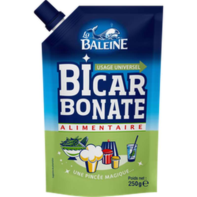 Bicarbonate de soude, La Baleine (250 g)