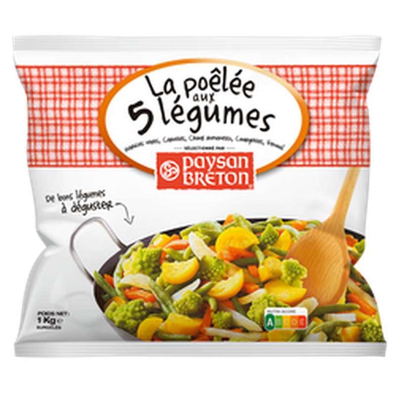 La poêlée aux 5 légumes, Paysan Breton (1kg)