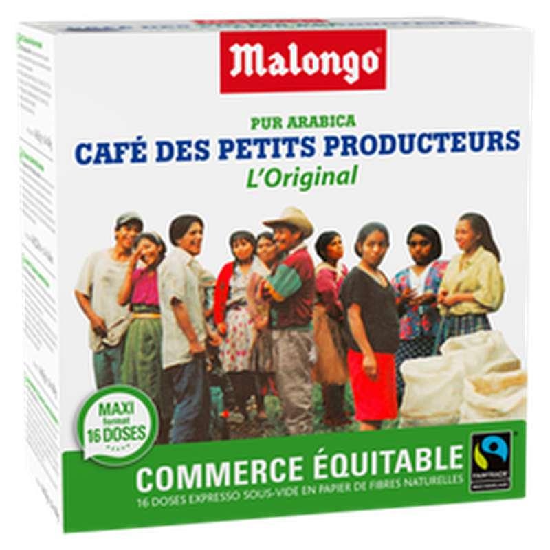 Café pur arabica petits producteurs, Malongo   (104 g)