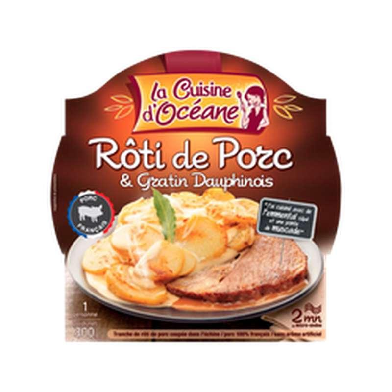 Rôti de porc et gratin dauphinois, La Cuisine d'Océane (300 g)