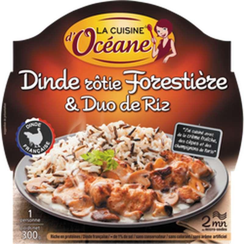 Dinde forestière et duo de riz, La Cuisine d'Océane (300 g)