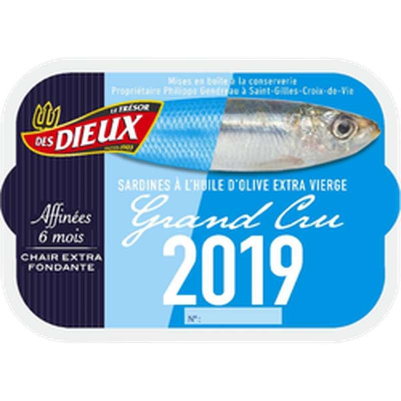 Sardines Grand Cru 2019, Le Trésor des Dieux (115 g)