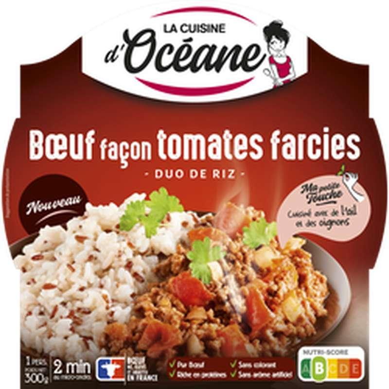 Boeuf façon tomates farcies & riz, La Cuisine d'Océane (300 g)