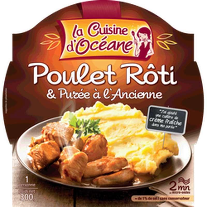 Poulet rôti et sa purée à l'ancienne, La Cuisine d'Océane (300 g)