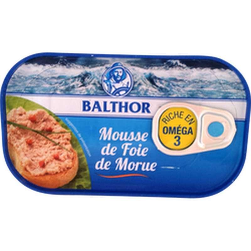 Mousse de foie de morue, Balthor (115 g)