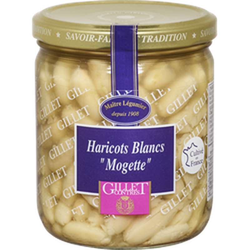 "Haricots Blancs dits ""Mogettes"", Gillet Contres (225 g)"