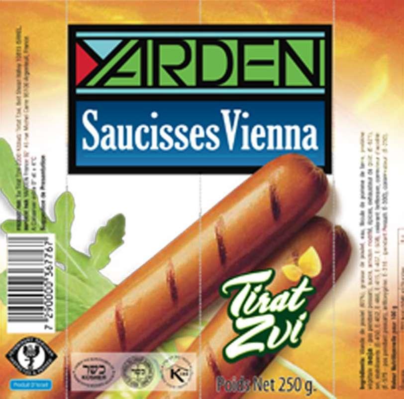 Saucisses Vienna, Yarden (250 g)