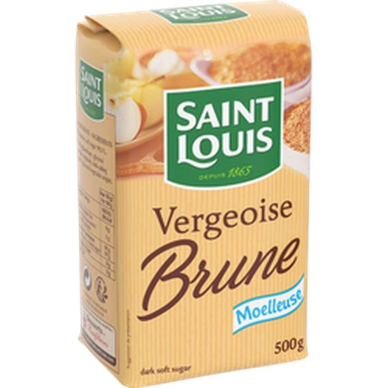 Vergeoise brune, St Louis (500 g)