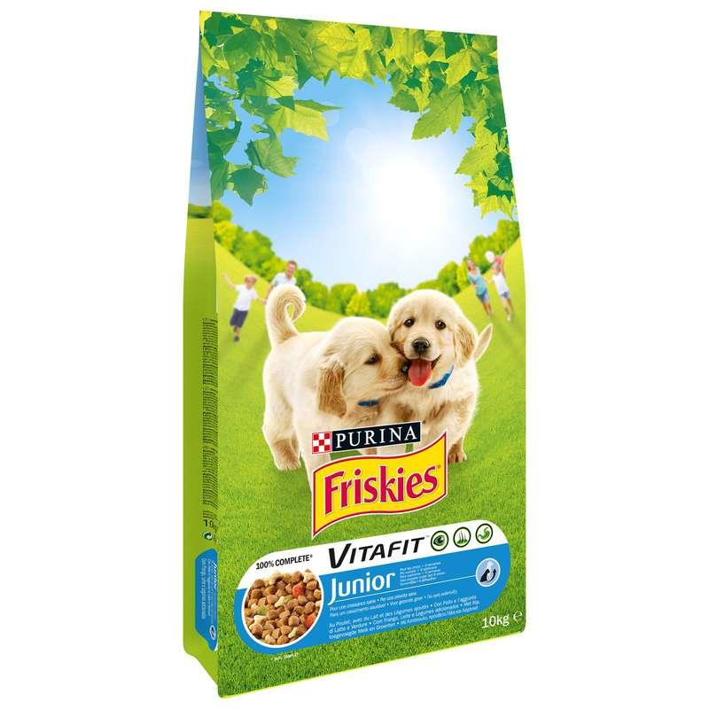 Croquettes pour chien junior, Friskies (10 kg)