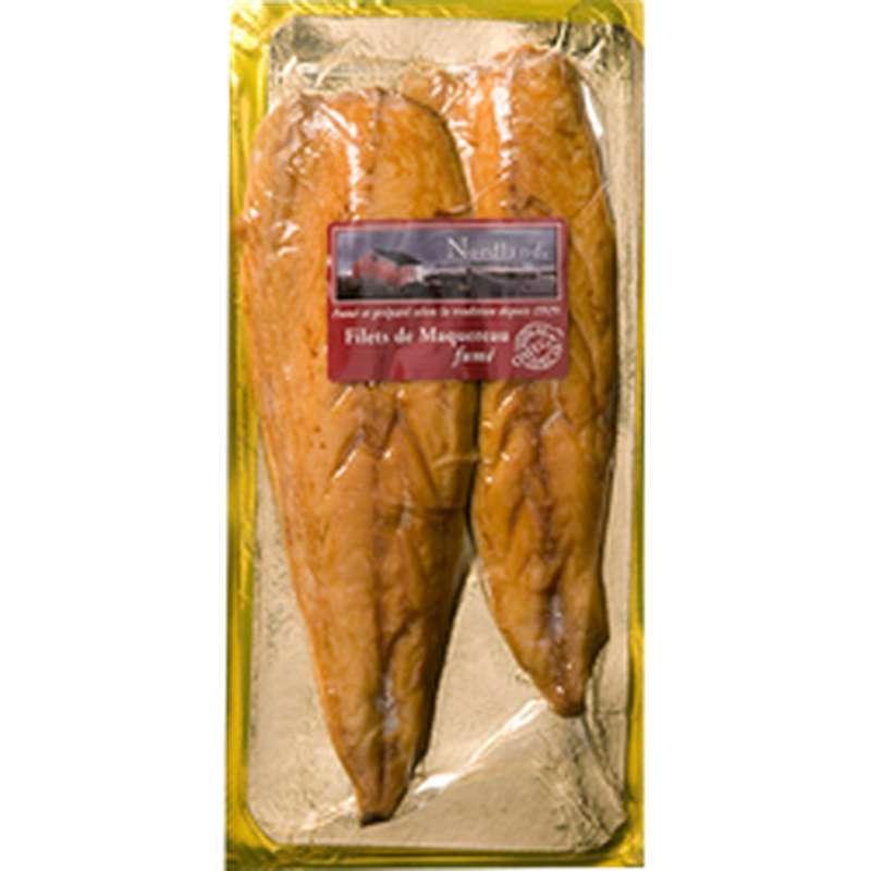 Filets de maquereaux fumés, Nordland (160 g)