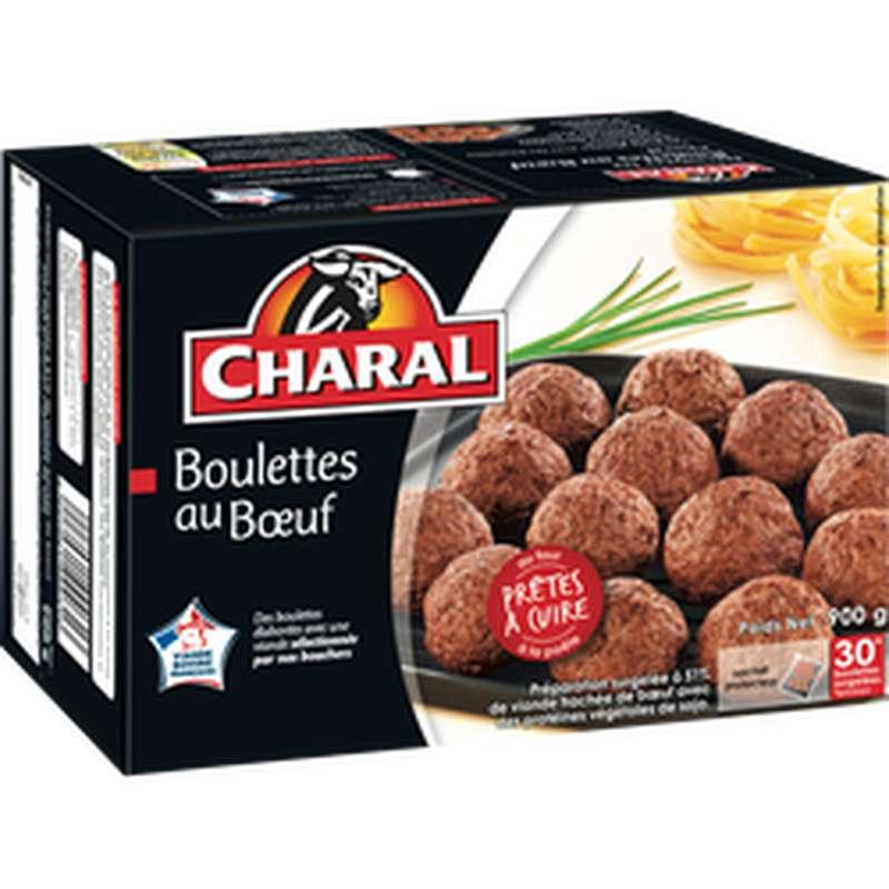 Boulettes au boeufs, Charal (x 30, 900 g)