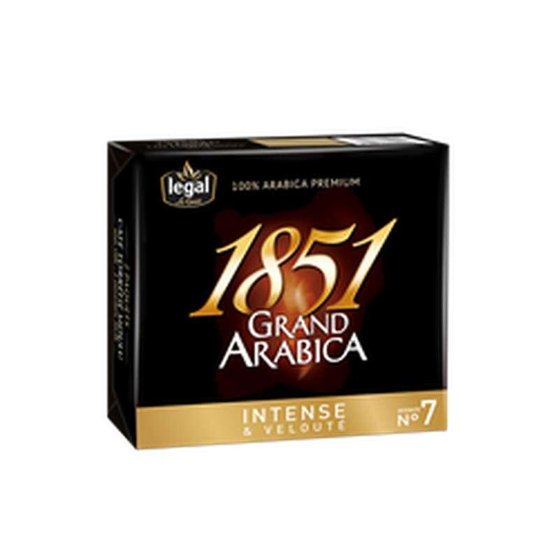 Café moulu grand arabica 1851, Legal (2 x 250 g)