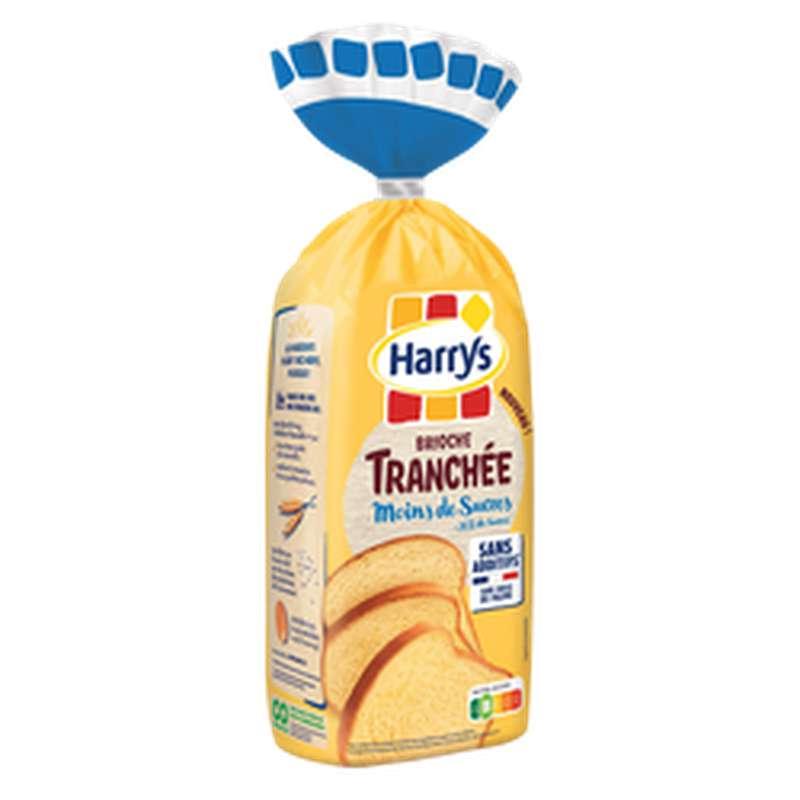 Brioche tranchée -30% de sucre et sans additifs, Harry's (485 g)