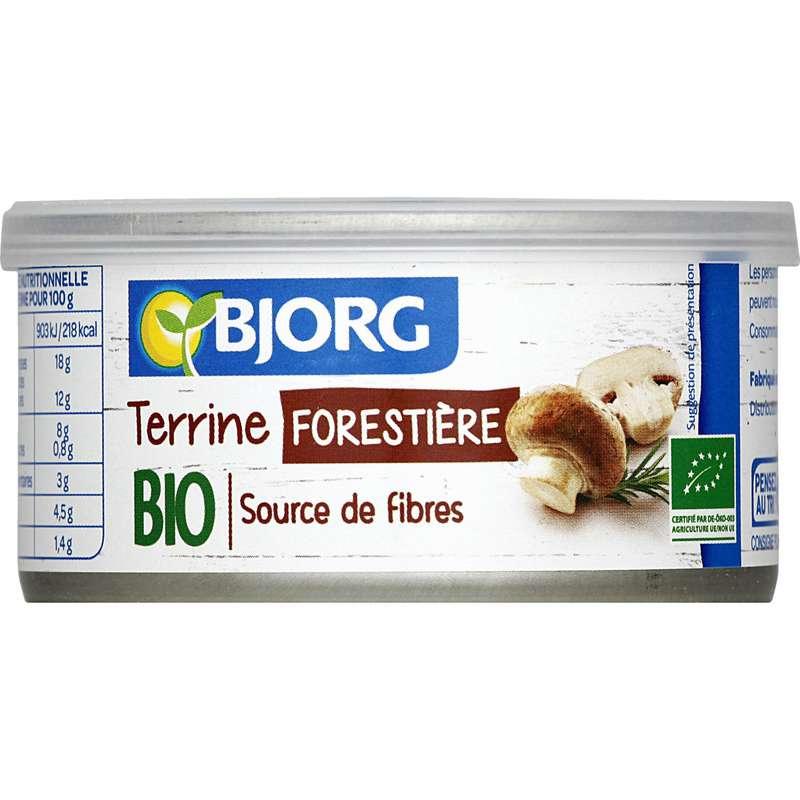 Terrine forestière BIO, Bjorg (125 g)