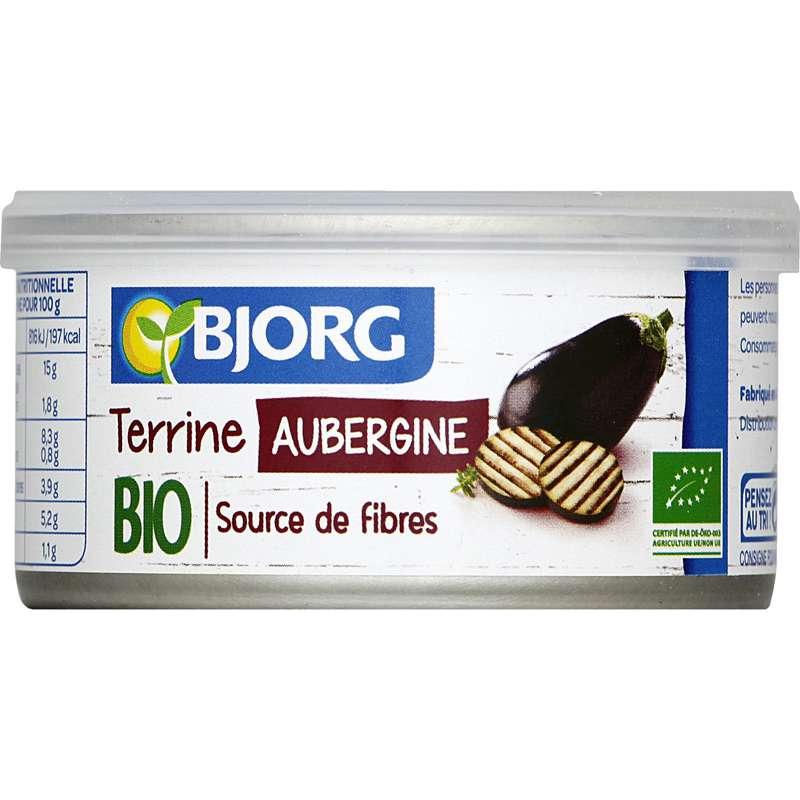 Terrine aubergine BIO, Bjorg (125 g)