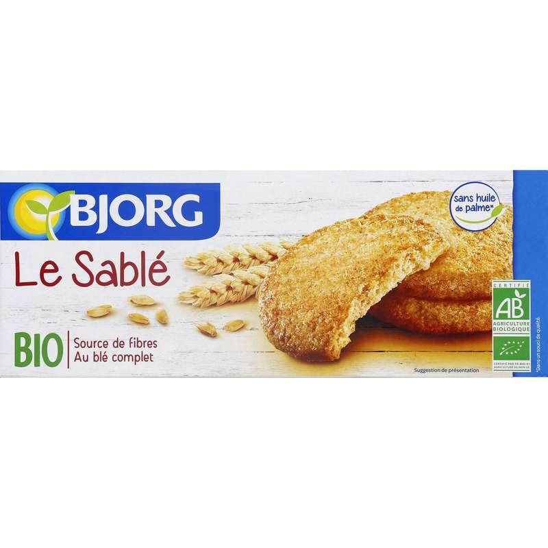 Biscuits sablé BIO, Bjorg (130 g)