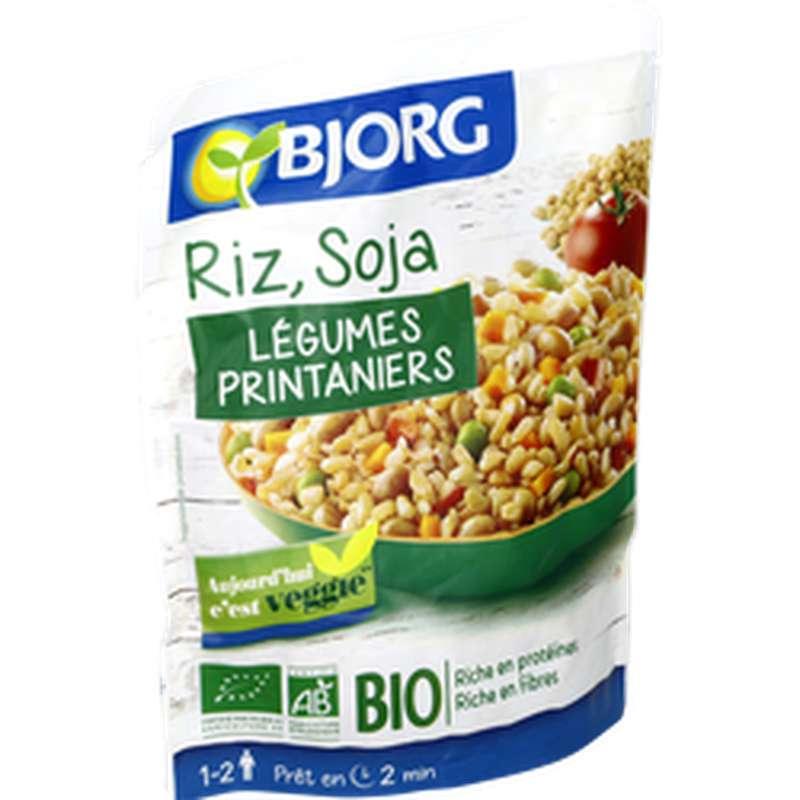 Riz soja légumes BIO, Bjorg (250 g)