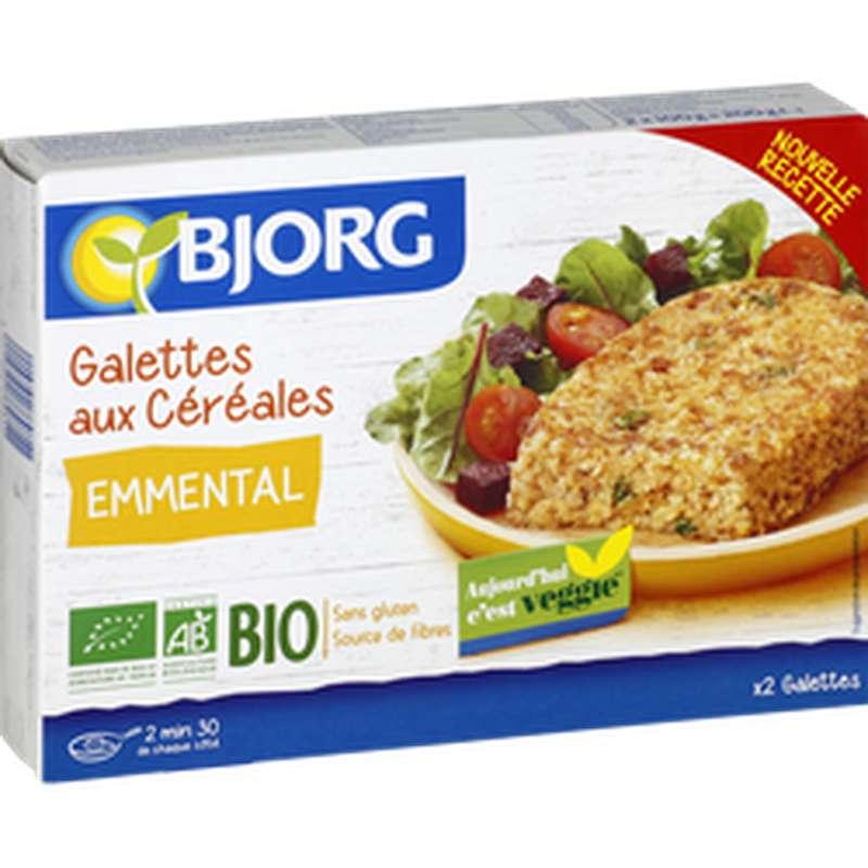 Galettes aux céréales et à l'emmental, Bjorg (200 g)