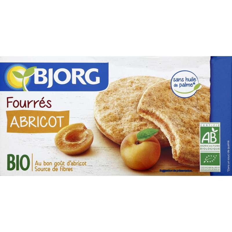Biscuits fourrés abricot BIO, Bjorg (175 g)