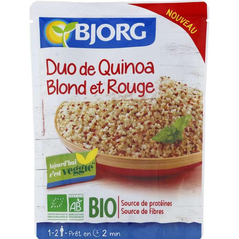 Quinoa rouge et blond BIO, Bjorg (220 g)