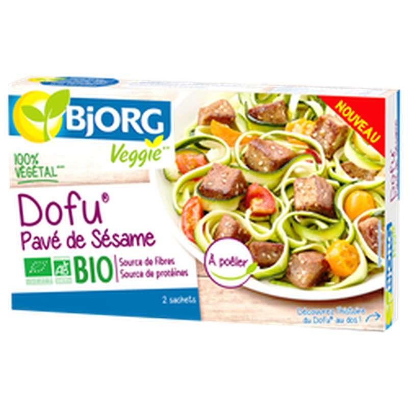 Dofu pavé de sésame BIO, Bjorg (2 x 85 g)