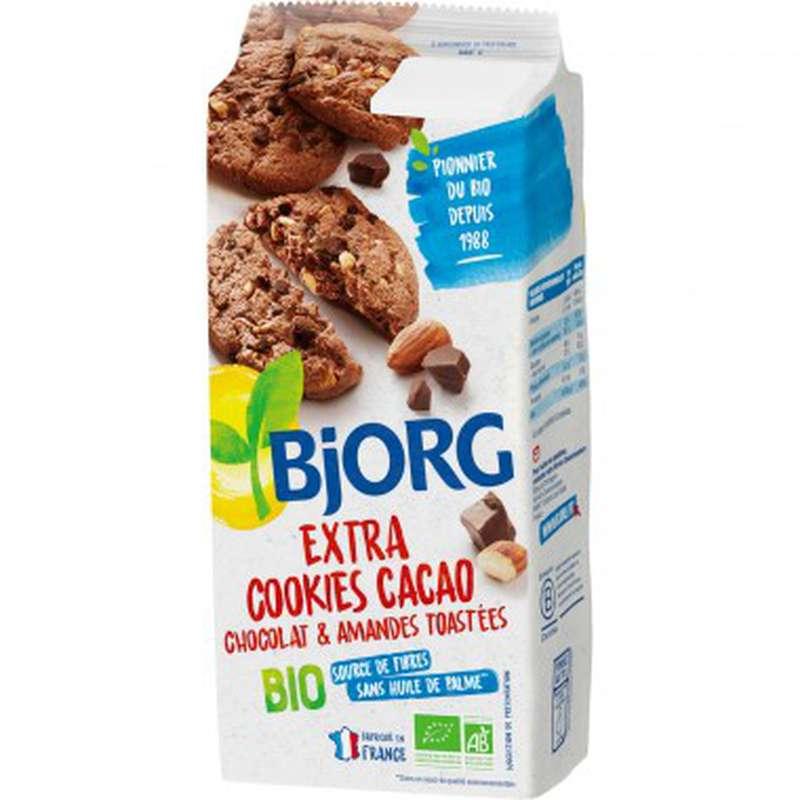 Cookies cacao choco & amandes BIO, Bjorg (185 g)