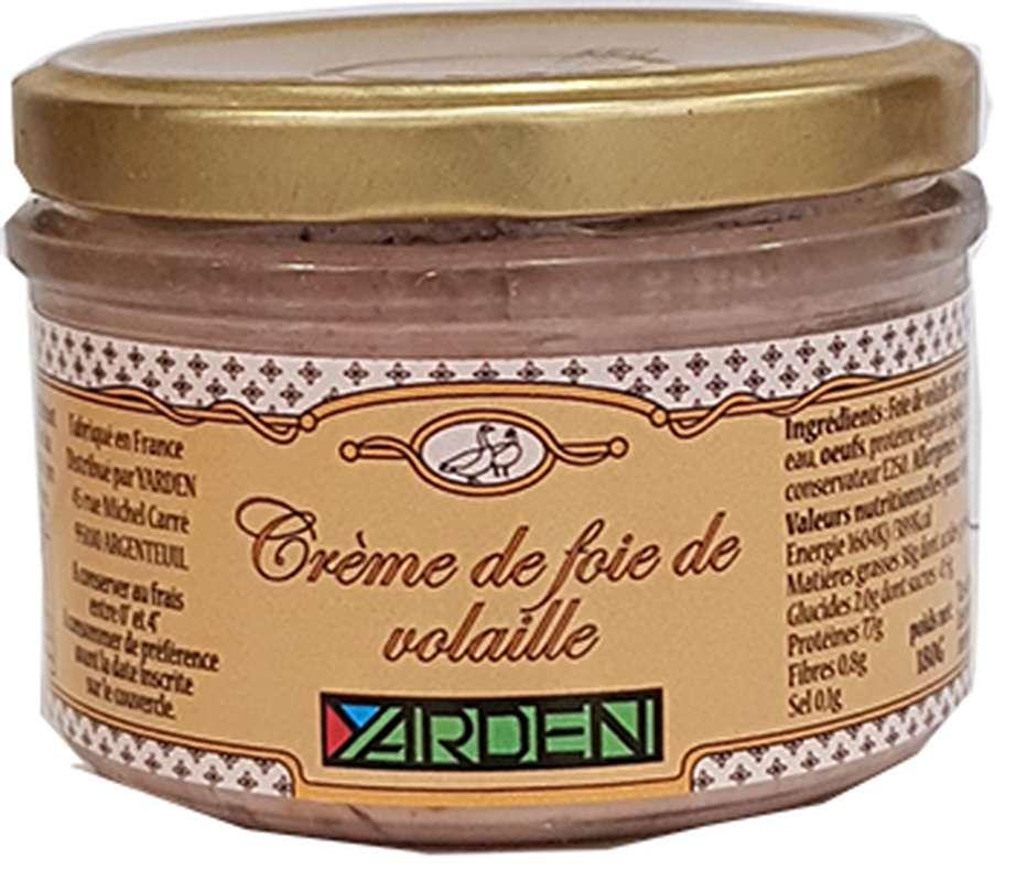 Crème de foie de volaille, Yarden (180 g)