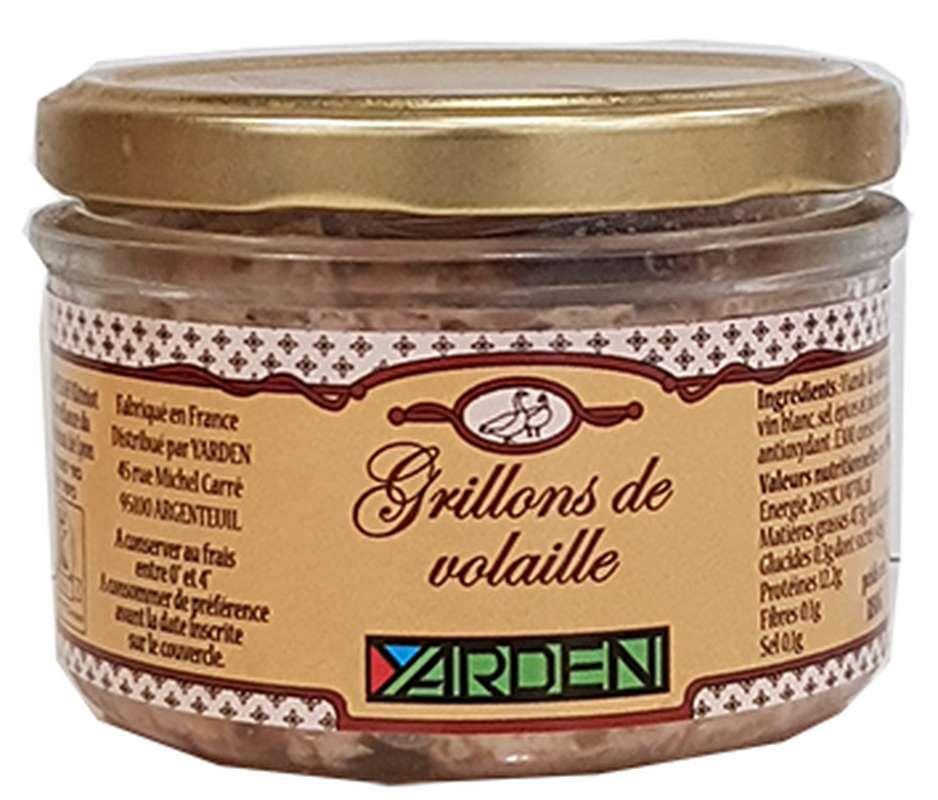 Grillons de volaille, Yarden (180 g)