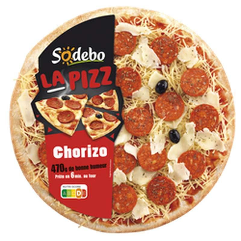 Pizza chorizo, Sodebo (470 g)