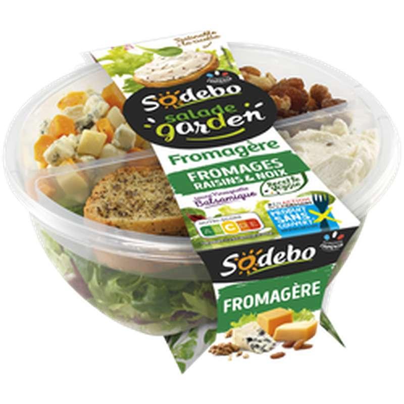 """Salade """"Garden"""" fromagère, Sodebo (240 g)"""