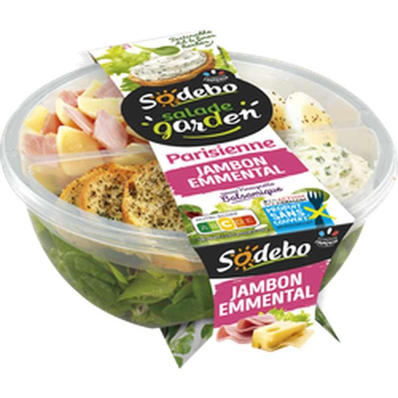 Salade Parisienne jambon emmental, Sodebo (240 g)