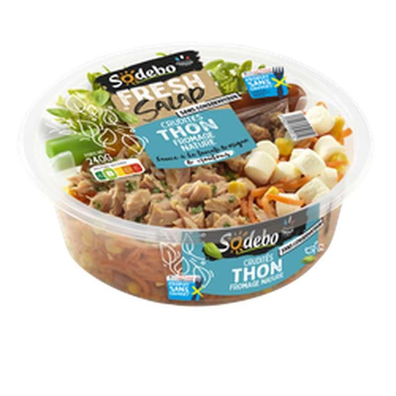 Fresh Salade thon crudités, Sodebo (240 g)