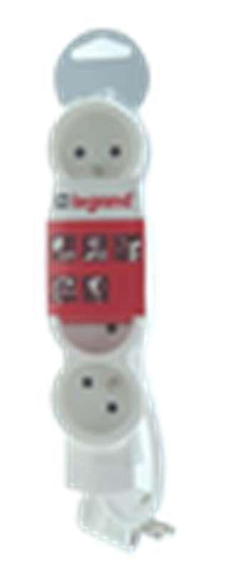 Bloc multiprises électriques 4 prises, Legrand (1,5 m)