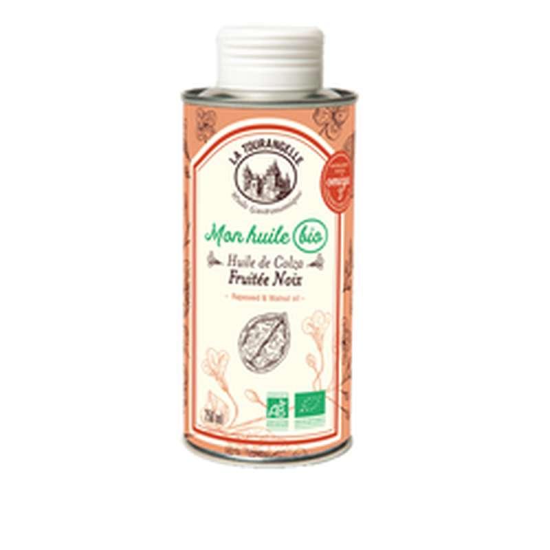 Huile de colza fruitée aux noix BIO, La Tourangelle (250 ml)