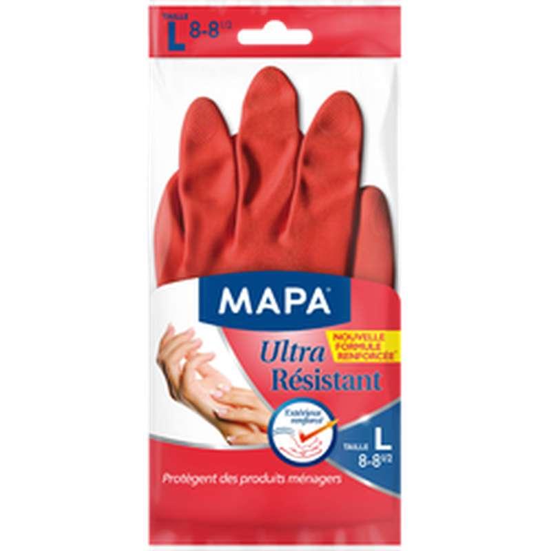 Gants ménagers Ultra Résistant, Mapa (taille L)