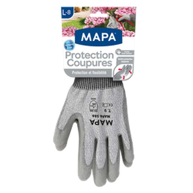 Gants de protection anti coupures taille L, Mapa (x 1)