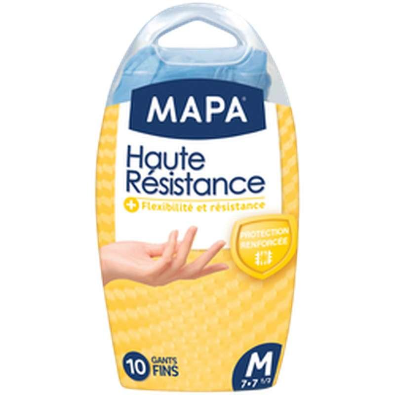 Gants fins Haute Résistance, Mapa (x 10, taille M)
