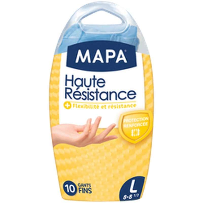 Gants fins Haute Résistance, Mapa (x 10, taille L)