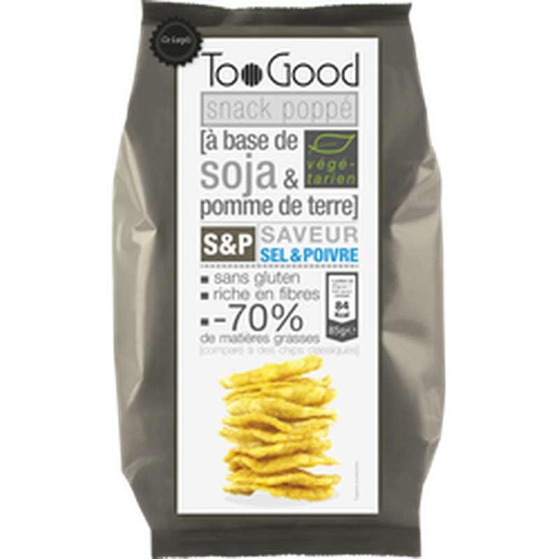 Snack poppé Soja Sel Et Poivre, Toogood (85 g)