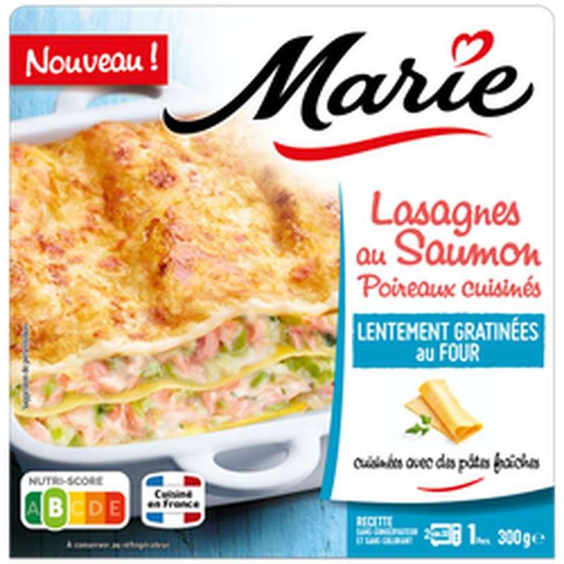 Lasagnes saumon poireaux, Marie (300 g)