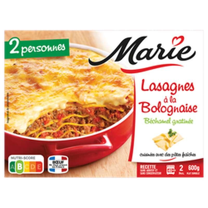Lasagnes à la bolognaise, Marie (600 g)