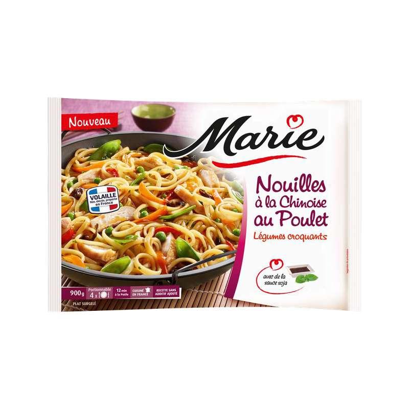 Nouilles à la chinoise au poulet légumes croquants, Marie (900 g)