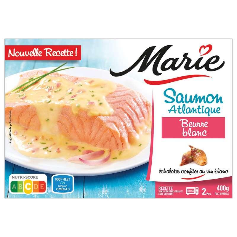 Saumon au beurre blanc, Marie (400 g)