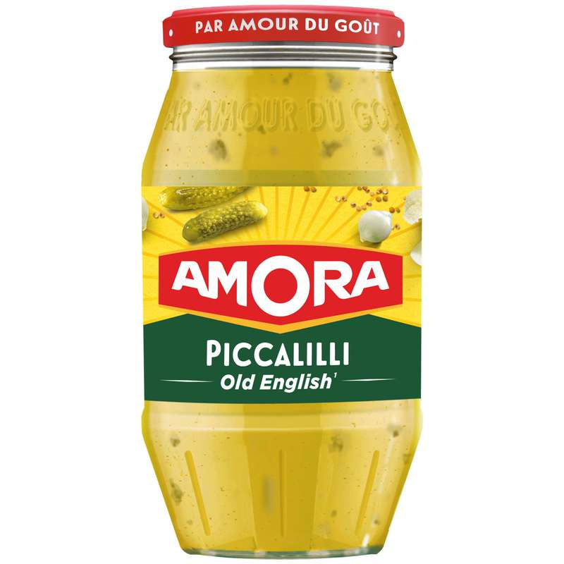 Moutarde Piccalilli Old English, Amora (435 g)