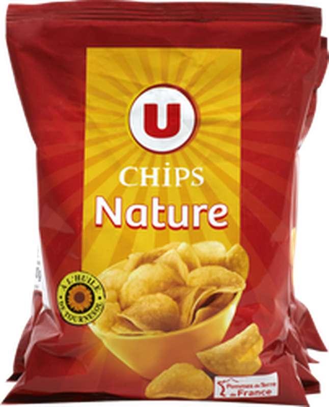 Chips nature multipack, U (6 x 30 g)