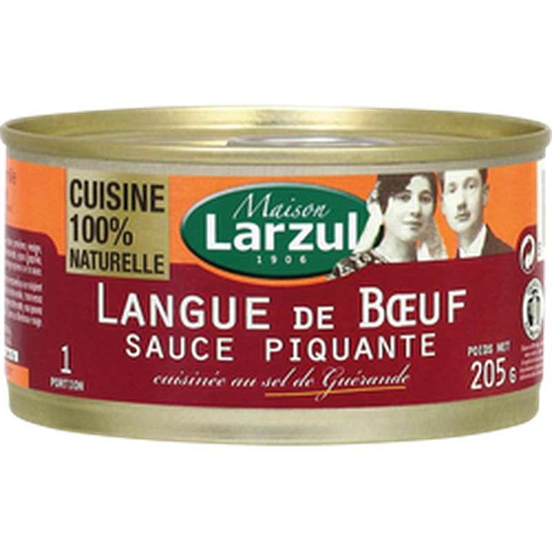 Langue de boeuf sauce piquante, Larzul (205 g)