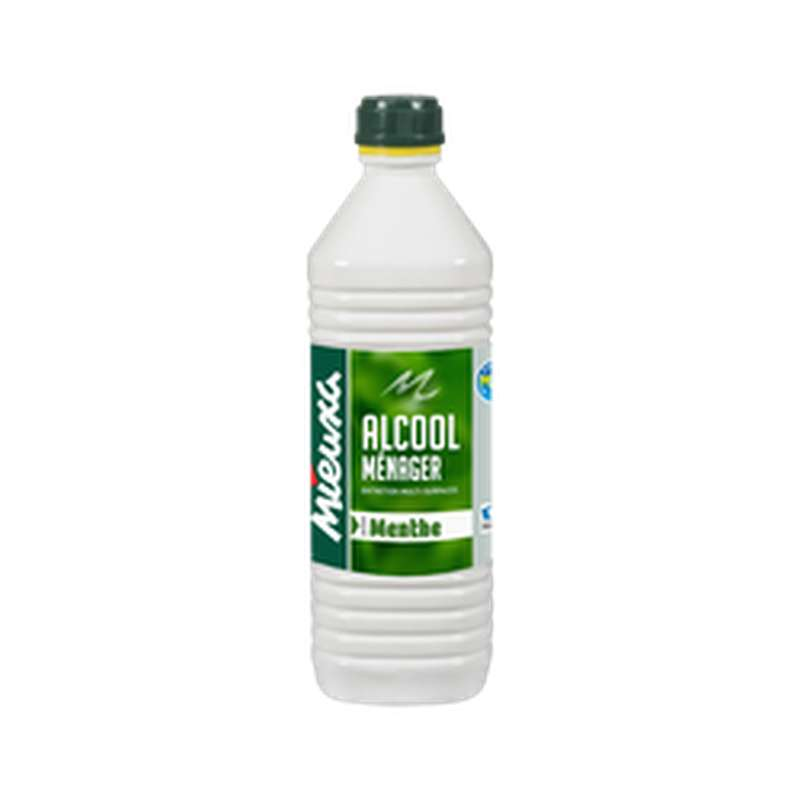 Alcool ménager parfum Menthe, Mieuxa (1 L)
