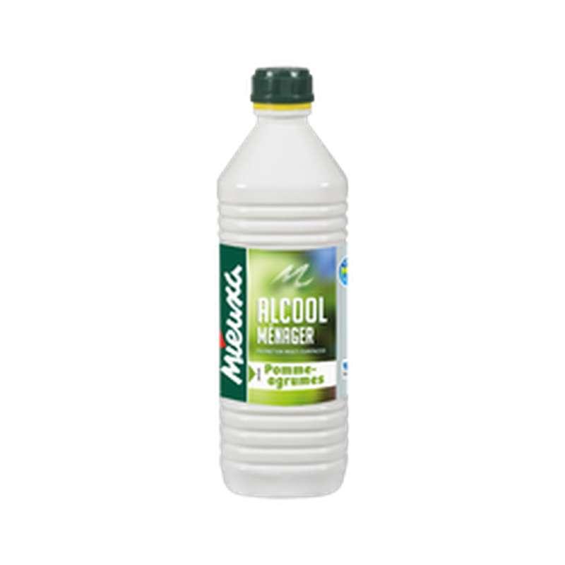Alcool ménager parfum Pomme/Agrumes, Mieuxa (1 L)